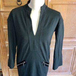 Charcoal grey dress by Diane Von Furstenberg